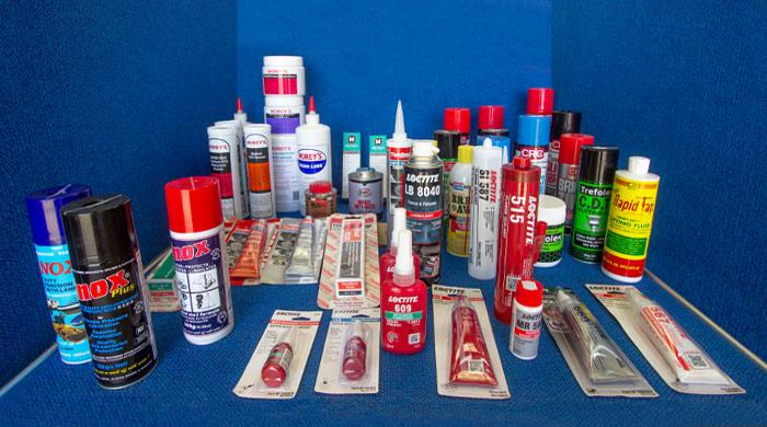 Range of sealants for sale at Gippsland Bearing Supplies