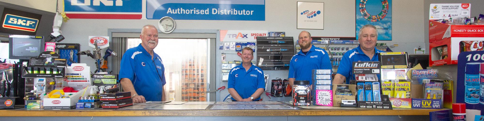 Gippsland Bearing Supplies team